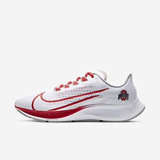 Nike College Zoom Pegasus 37 (Ohio State) Running Shoe