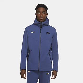 Tottenham Hotspur Tech Pack Męska bluza z kapturem i zamkiem na całej długości