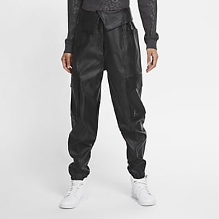 Jordan Court-To-Runway Women's Faux Leather Utility Trousers