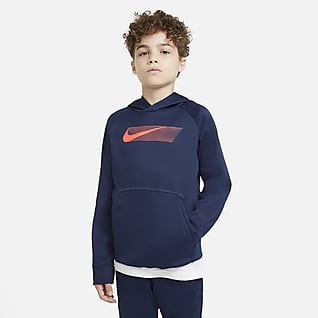 Nike Therma Big Kids' (Boys') Pullover Graphic Training Hoodie