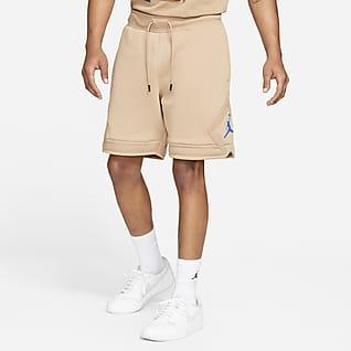 Jordan Essential Shorts de tejido Fleece con diseño de diamante para hombre