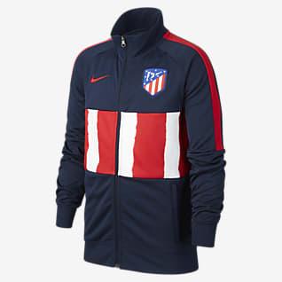 Atlético Madryt Dresowa bluza piłkarska dla dużych dzieci