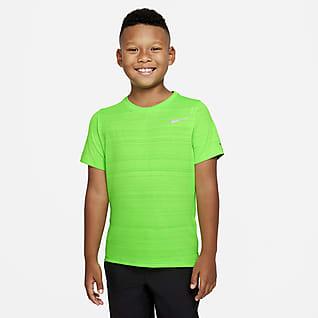 Nike Dri-FIT Miler เสื้อเทรนนิ่งเด็กโต (ชาย)