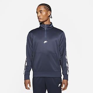 Nike Sportswear Camisola com fecho até meio para homem