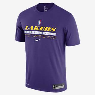 Lakers Practice Nike Dri-FIT NBA T-skjorte til herre