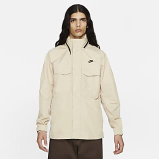 Nike Sportswear Premium Essentials Bélés nélküli M65 kapucnis férfikabát