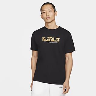 Nike Dri-FIT LeBron Logo 男款短袖籃球 T 恤