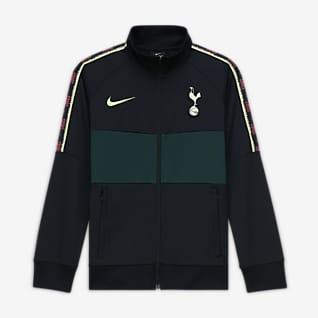 Tottenham Hotspur Dresowa bluza piłkarska dla dużych dzieci