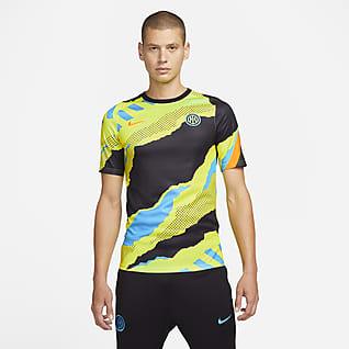 Inter Milan Haut de football d'avant-match Nike Dri-FIT pour Homme