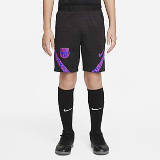 F.C. Barcelona Strike Older Kids' Nike Dri-FIT Football Shorts