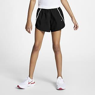 Nike Dry Беговые шорты для девочек школьного возраста