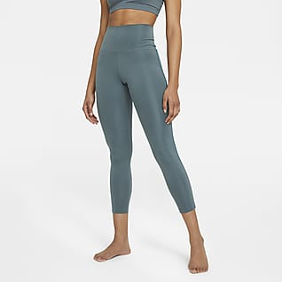 Nike Yoga Novelty 7/8-Leggings für Damen