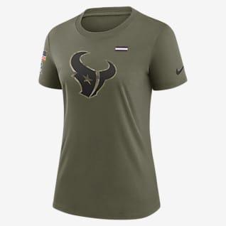 Nike Dri-FIT Salute to Service Legend (NFL Houston Texans) Playera para mujer