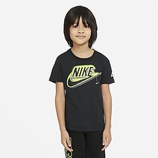 Nike T-shirt com grafismo que brilha no escuro para criança