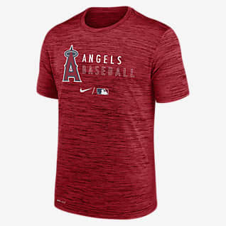 Nike Dri-FIT Velocity Practice (MLB Los Angeles Angels) Men's T-Shirt