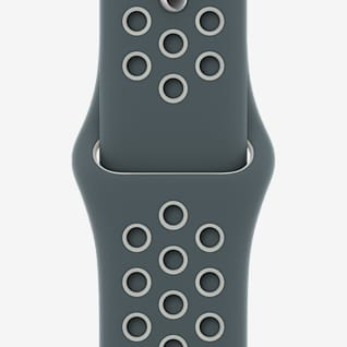 40 mm Hasta/Light Silver Nike Sportarmband – Normalgröße