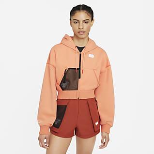 Naomi Osaka Fleece-Tennis-Oberteil für Damen