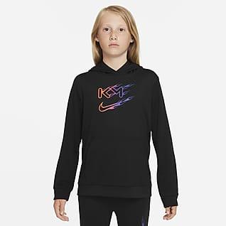 Nike Dri-FIT Kylian Mbappé 大童足球套头连帽衫