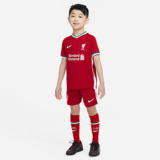 Liverpool F.C. 2020/21 Home Younger Kids' Football Kit