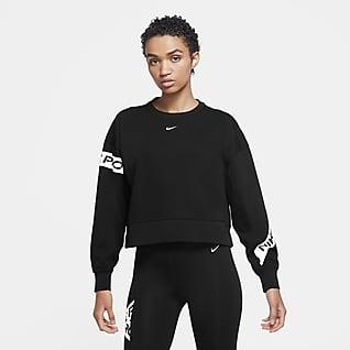 Nike Pro Dri-FIT Get Fit Treningsgenser med rund hals til dame