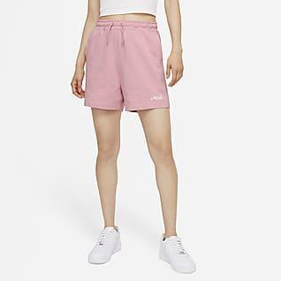 Nike Sportswear 女款平織短褲