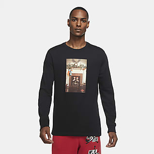 Jordan Jumpman Chimney Men's Long-Sleeve T-Shirt