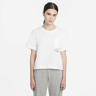 Nike Sportswear Swoosh Женская футболка с коротким рукавом