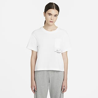 Nike Sportswear Swoosh Haut à manches courtes pour Femme