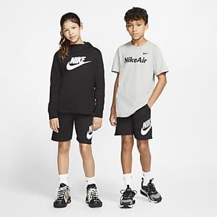 Nike Sportswear Club Fleece Kraťasy pro větší děti