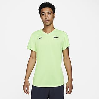 Rafa Challenger Pánské tenisové tričko s krátkým rukávem