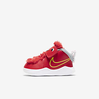 Nike Team Hustle D 9 Fast n Furry Baby/Toddler Shoe