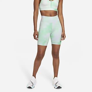 Nike One Icon Clash Calções estampados de 18 cm para mulher