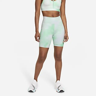 Nike One Icon Clash Pantalons curts estampats de 18 cm - Dona