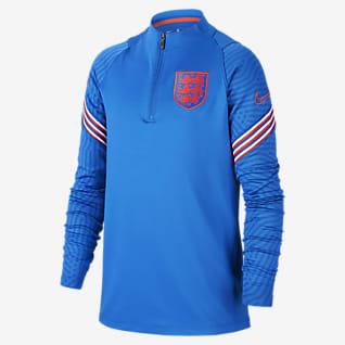 Inglaterra Strike Camisola de treino de futebol Júnior