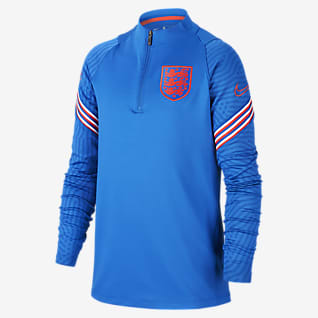 England Strike Older Kids' Football Drill Top