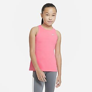 Nike Pro Camisola sem mangas Júnior (Rapariga)