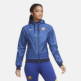 FC Barcelona Windrunner Casaco para mulher