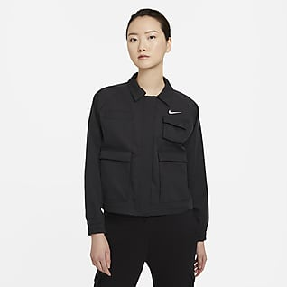 Nike Sportswear Swoosh 女款梭織外套