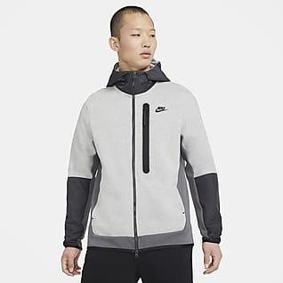 Nike Sportswear Tech Fleece Ανδρική υφαντή μπλούζα με κουκούλα και φερμουάρ σε όλο το μήκος