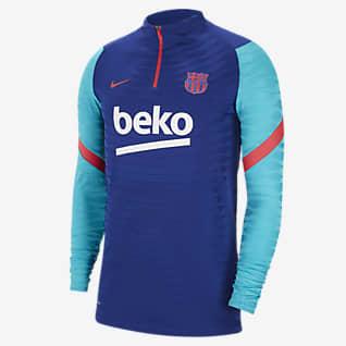 FC Barcelona VaporKnit Strike Men's 1/4-Zip Football Drill Top