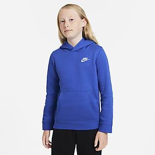 Nike Sportswear Club Mikina s kapucí pro větší děti