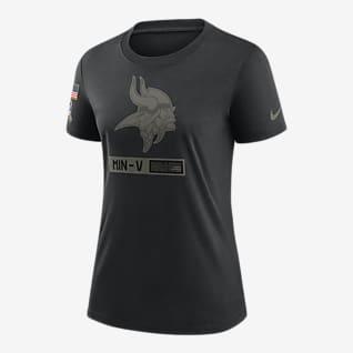 Nike Legend Salute to Service (NFL Vikings) Women's T-Shirt