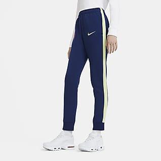 FC Barcelona Pantalones de fútbol de tejido Fleece para niños talla grande