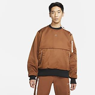 Nike Sportswear Style Essentials+ Fôret overdel med rund hals til herre