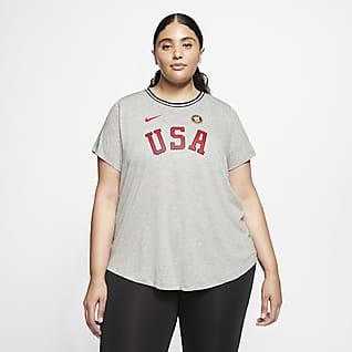 Nike Team USA Playera para mujer (talla grande)