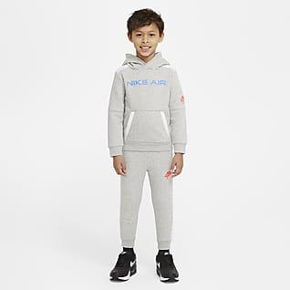 Nike Air Set med huvtröja och joggingbyxor för små barn