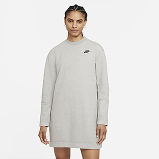 Nike Sportswear Tech Fleece Платье с длинным рукавом