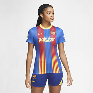 FC Barcelona 2020/21 Stadium Camisola de futebol para mulher