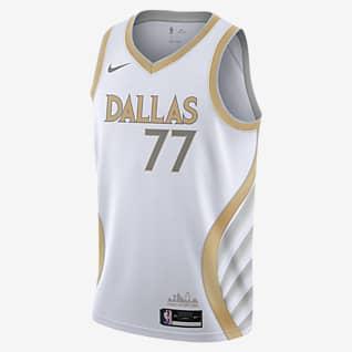 Dallas Mavericks City Edition Maillot Nike NBA Swingman
