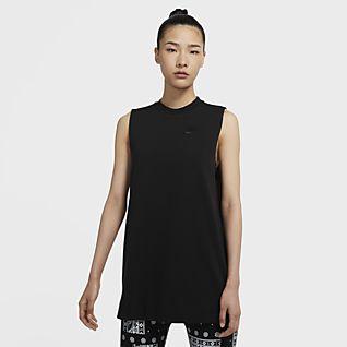 Nike Sportswear Túnica de tecido de malha Jersey para mulher